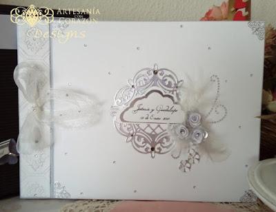 libros de firmas para bodas