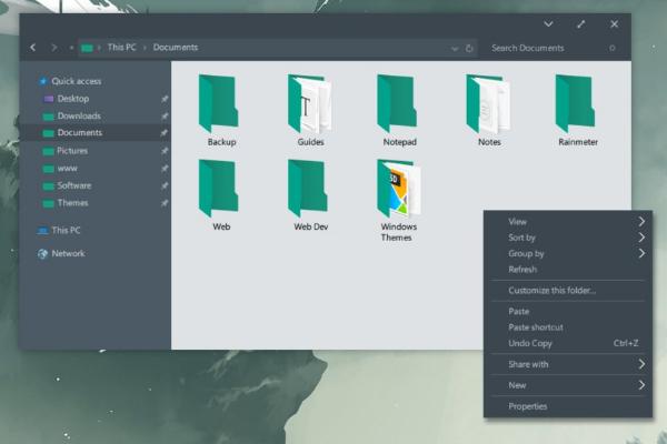 Cara Menginstall Theme Pihak Ke Tiga  Baru Di Windows 10 Creator Update