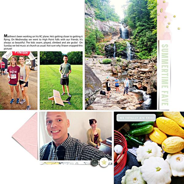 Week 27: Digital Scrapbook Page