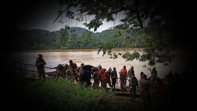 Mayat Kaku di Sungai Pahang Ternyata Pasukan Elite Penyusup Malaysia