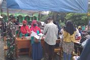 Bhakti Untuk Negri, Koramil 06/Cakung Sukseskan Vaksinasi Massal