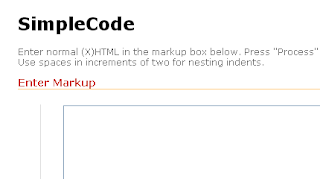 HTML+Code+View+Using+SimpleCode