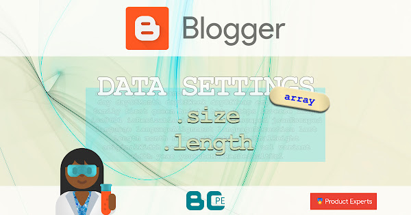 Blogger - Length of the array - Longueur d'un tableau