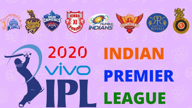Vivo ipl 2020  Schedule,Fixtures,Start date,Teams,Venue,Time Table,Point Table