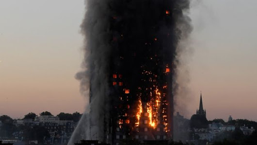 * S+P Worldnews: London/Grenfell Tower fire - Death toll rises to 17 but 'no more survivors' (via BBC News)