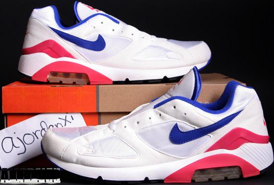 reputable site be981 c677c Nike Air Max 180 Classic WhiteUltramarine (2005)