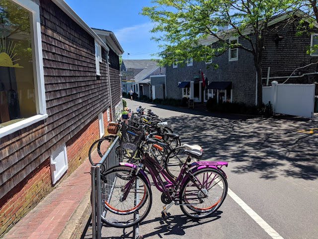 Bike Rack Downtown Edgartown