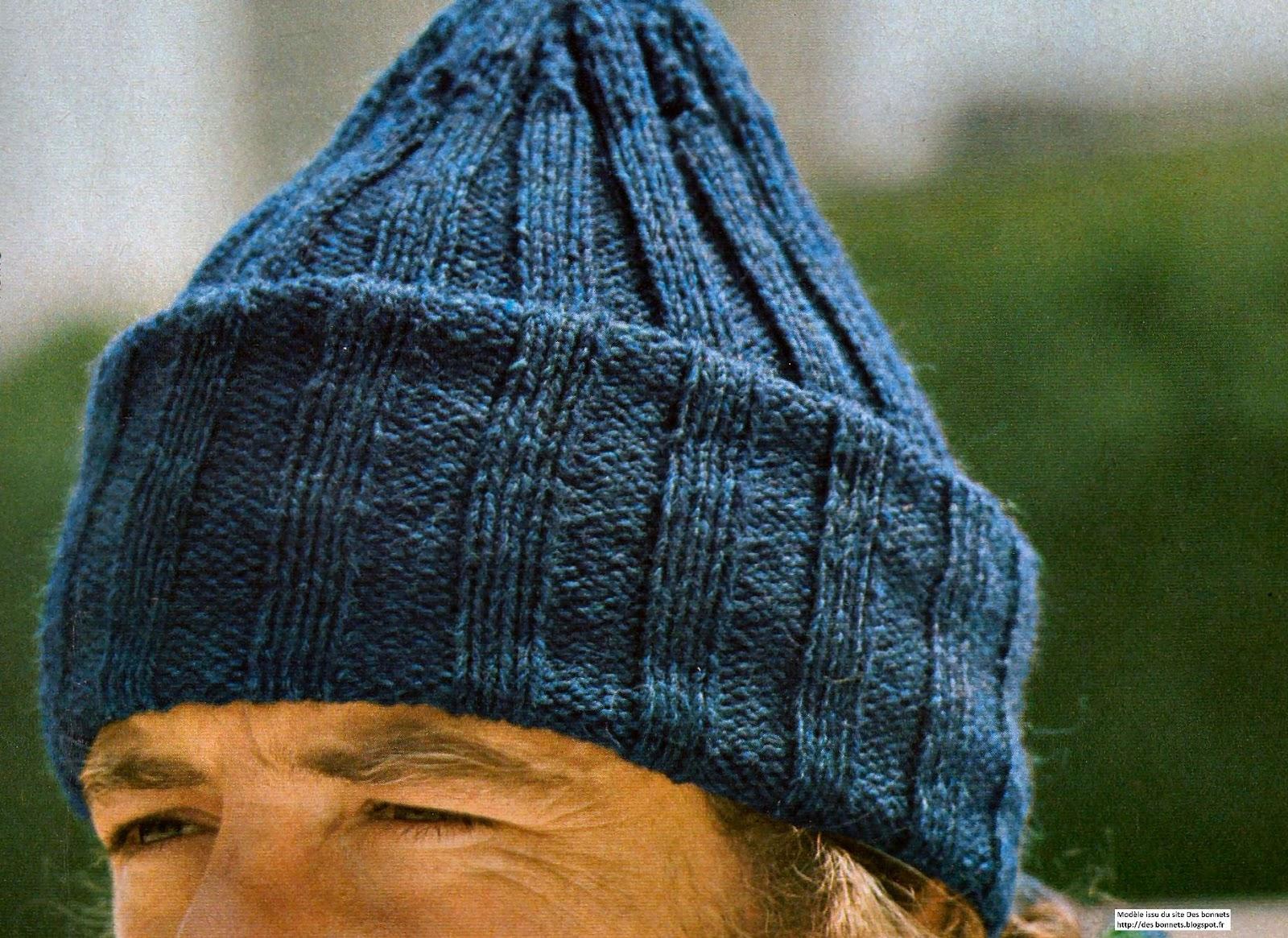 tricoter un bonnet aiguille n° 3