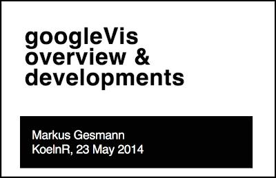 googleVis Update