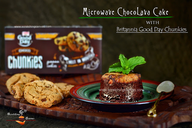 Instant Chocolate Cake Video Recipe   Microwave Lava Cake