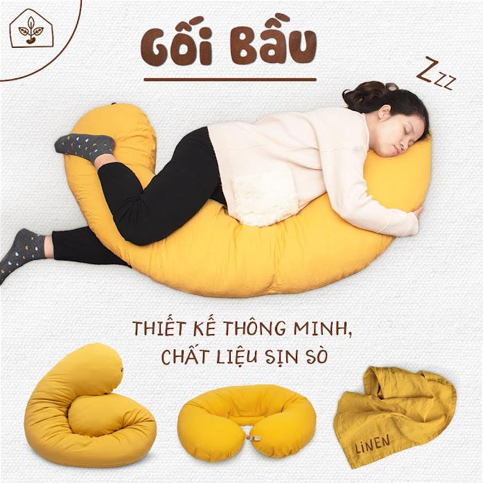 [A159] Địa chỉ mua gối cho bà bầu cao cấp tại Hà Nội