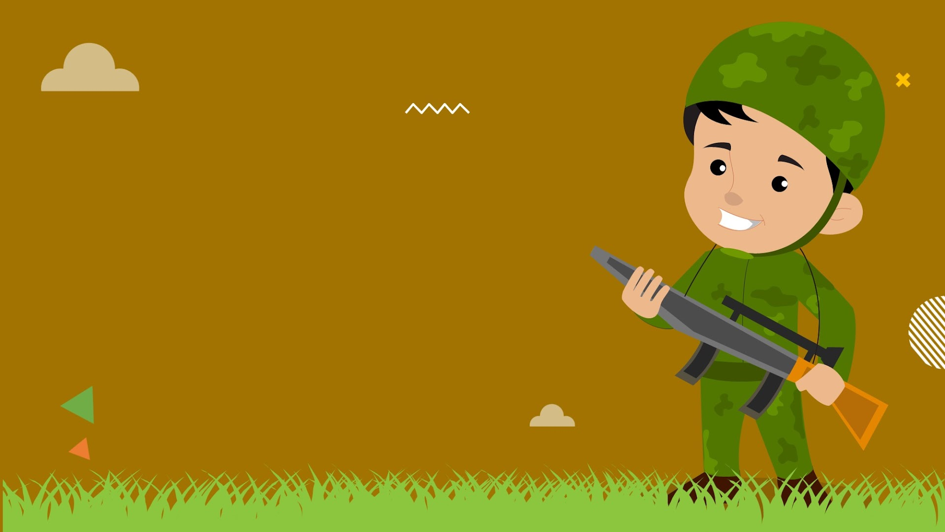 Army Man Background