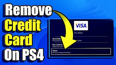 How to Remove Credit Card From Ps4 and Change Payment Details