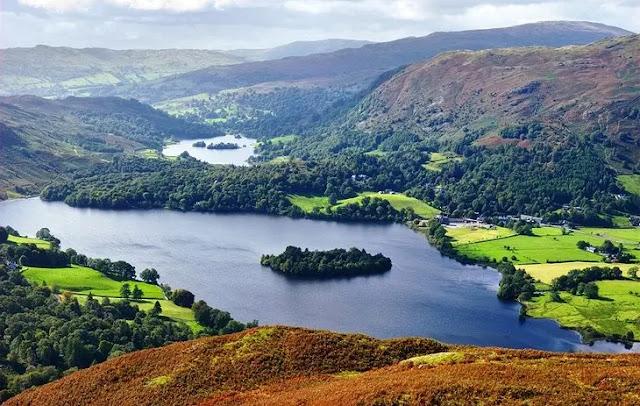 6. Lake District Peninsula's