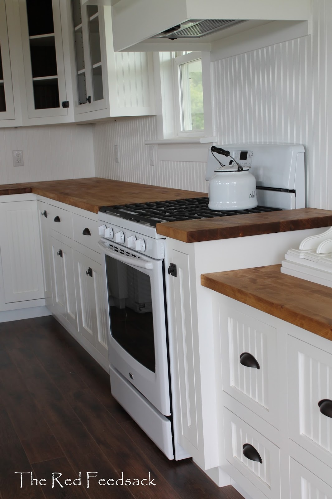 The Red Feedsack Butcher Block Counter Tops