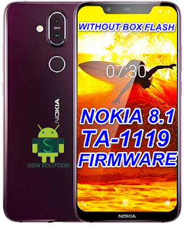 Nokia 8.1 TA-1119 Offical Stock ROM Firmware/Flash File Download