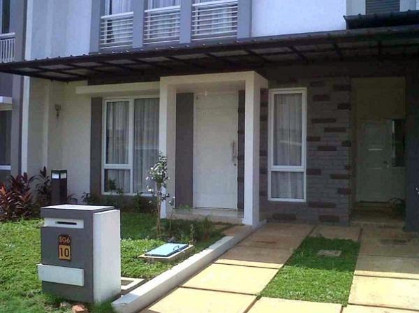 model desain teras rumah minimalis terbaru 2 lantai