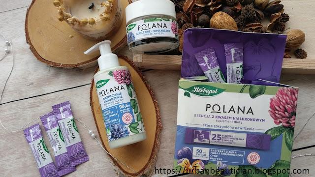 Recenzja: kosmetyki linii nawilżającej i maseczka oczyszczająca POLANA Herbapol