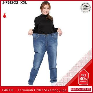 MNF408J79 Jeans 746202 Wanita Jumbo Xxl Jeans Boyfriend 2019 BMGShop