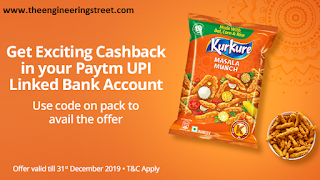 PayTM KurKure Offer – Get Free ₹10/20/35 For New Kurkure Packs