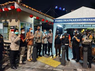 Kampung Tangguh Jaya RW.01, Jalan Cikini VII RT.016/01, Cikini, Menteng, Jakarta Pusat di kunjungi Polda Metrojaya.