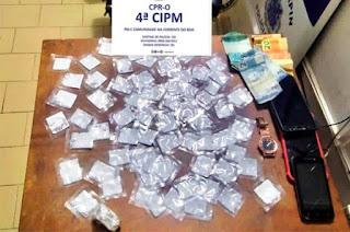 Mulheres são detidas ao tentar entregar drogas a detentos em Macaúbas