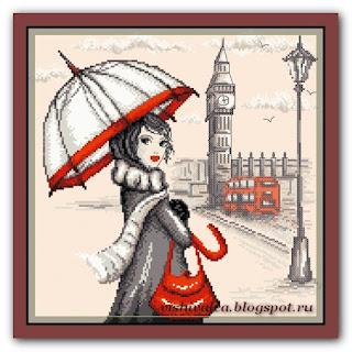 """Марья Искусница 09.005.02 """"Лондон"""""""