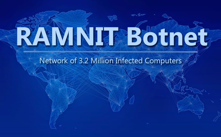 Europol Takes Down RAMNIT Botnet
