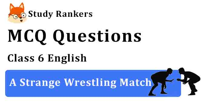 MCQ Questions for Class 6 English Chapter 10 A Strange Wrestling Match A Pact with the Sun