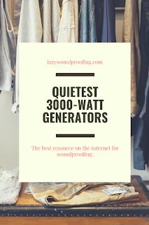 best quietest 3000 watt generators