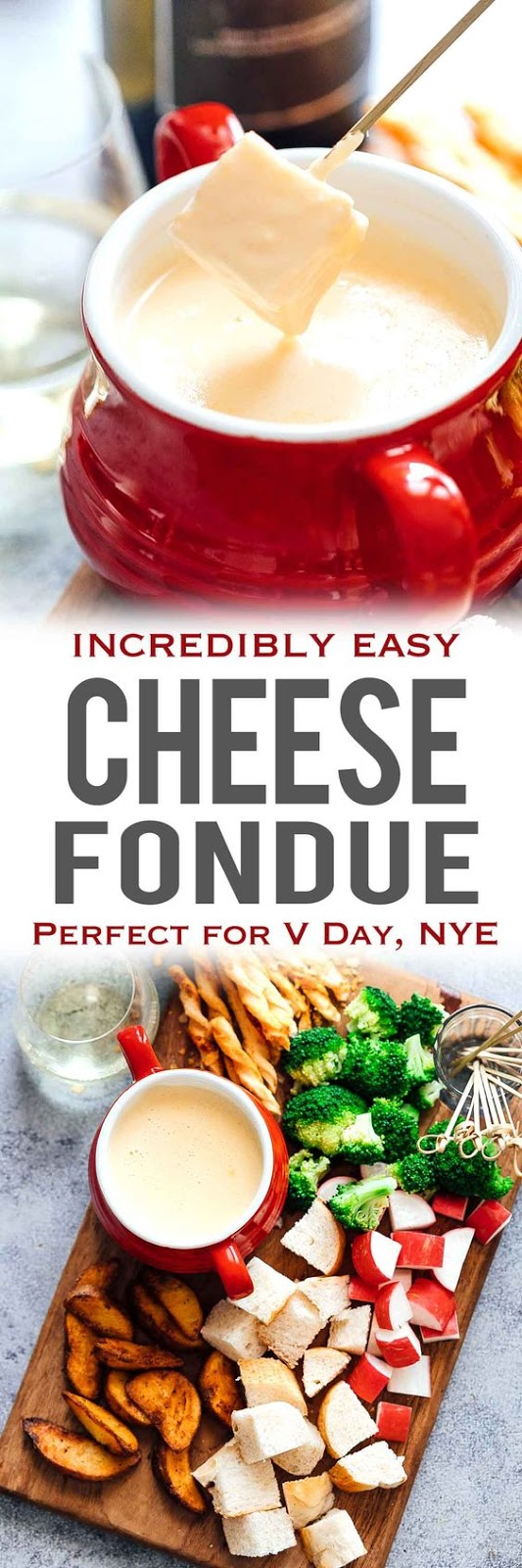Easy Cheese Fondue Recipe With White Wine