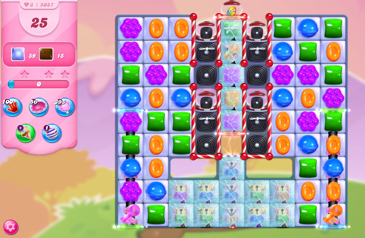 Candy Crush Saga level 5087