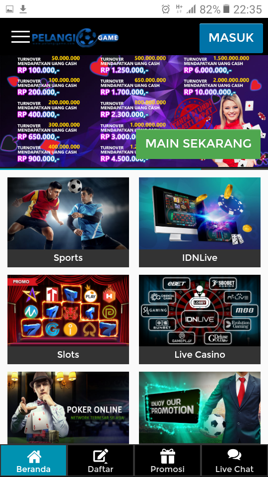 Bonus New Member Hingga 200 Pelangigame Poker Idn All Game