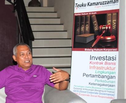 Ampon Man Jadi Kuasa Hukum DPW PA Aceh Jaya