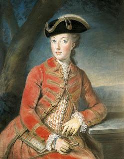 Maria Antonieta aos 16 anos, 1771