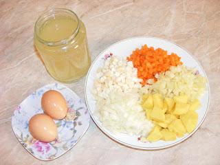 retete cu legume oua si bors de casa, preparate din legume oua si bors, reteta ingrediente pentru gatit,