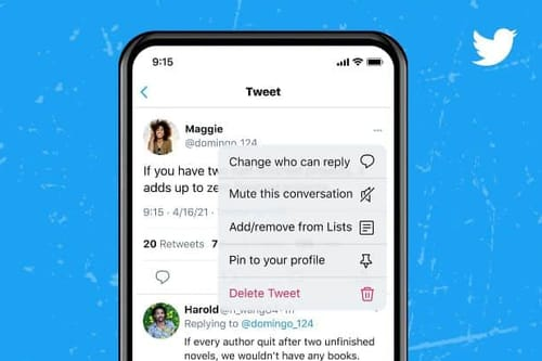 You can use Twitter to change who can reply after a Tweet has been posted