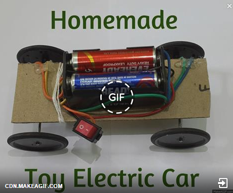 How To Make Toy Electric Car Using Dc Motor Electrical