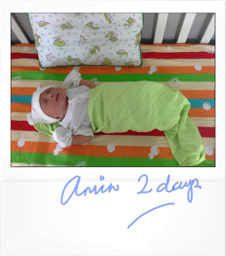 Yeah, lil' Amin will turn 2 soon!