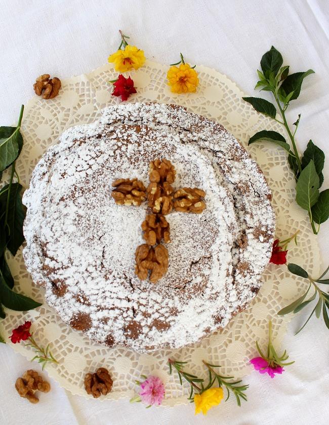 Φανουρόπιτα 2019, με σοκολάτα και φρουκτόζη