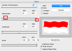 cara membuat bendera di photoshop