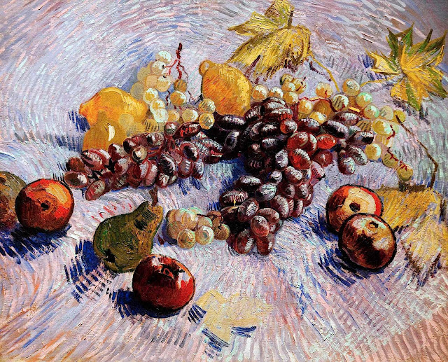 Vincent van Gogh fruit still life