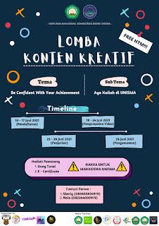 Pamflet Lomba Konten Kreatif