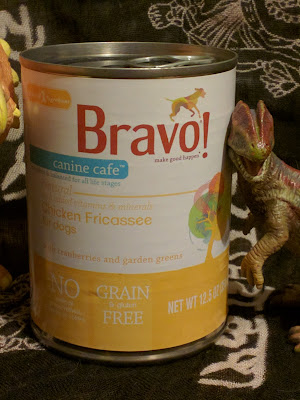 dog food and dinosaurs