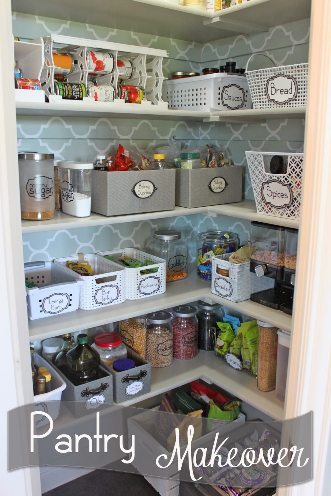 A Little Of This A Little Of That Pantry Makeover
