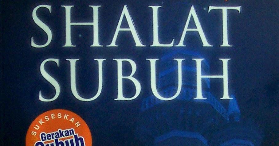 Ebook Misteri Shalat Subuh