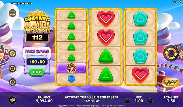 Main Gratis Slot Indonesia - CandyWays Bonanza Megaways Stakelogic
