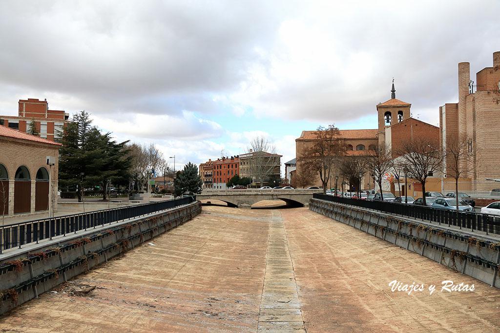 Río Zapardiel de Medina del Campo