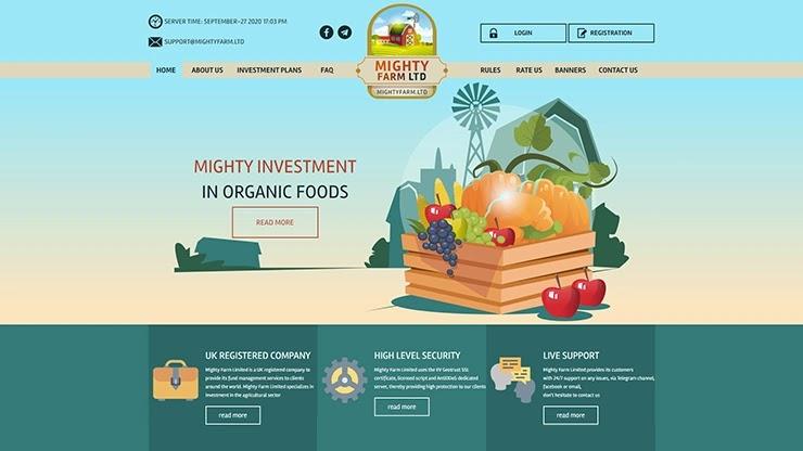 Третья фаза развития Mighty Farm LTD