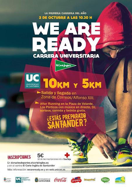 ?We Are Ready? Carrera Universitaria en Santander